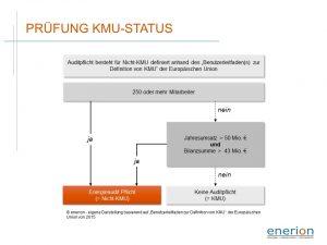 Prüfung des KMU-Status für Unternehmen